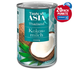 TASTE OF ASIA Kokosmilch