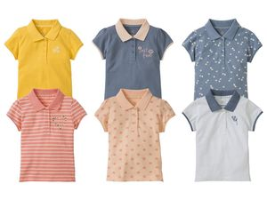 LUPILU® 2 Kleinkinder Mädchen Poloshirts