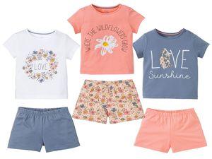 LUPILU® Kleinkinder Mädchen Sommer-Pyjama