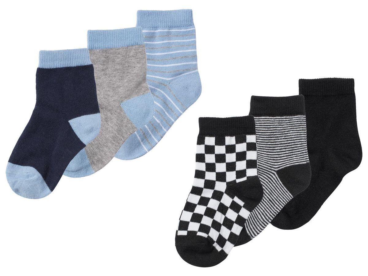 Bild 1 von LUPILU® 3 Paar Kleinkinder Jungen Socken