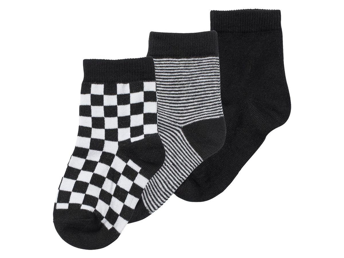 Bild 2 von LUPILU® 3 Paar Kleinkinder Jungen Socken