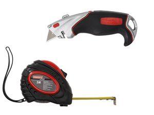 POWERFIX® Cuttermesser / Maßband