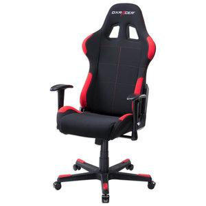Gamer Drehstuhl RACER I - rot-schwarz - Netzoptik