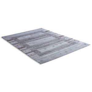 Friseeteppich MALMÖ - grau - 80x150 cm