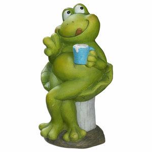 Frosch - grün - 40 cm hoch