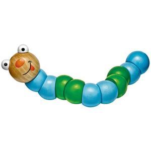 Babydream Holz-Wurm blau