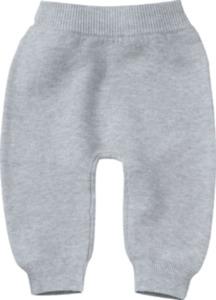 ALANA Baby-Strickhose, Gr. 68, in Bio-Baumwolle, grau, für Mädchen und Jungen