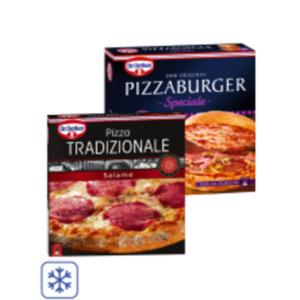 Dr. Oetker Pizza Tradizionale oder Pizza Burger