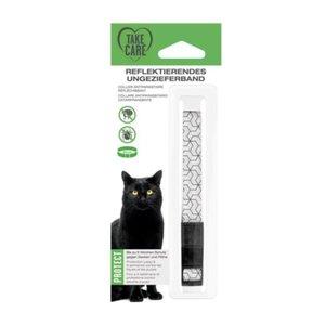 TAKE CARE reflektierendes Ungezieferband Katze 35cm