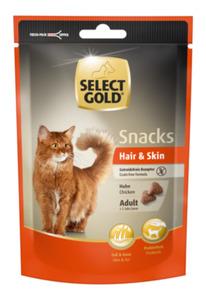 SELECT GOLD Snacks Hair & Skin Huhn 4x75g