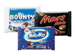 Bounty/Milky Way/Mars Minis