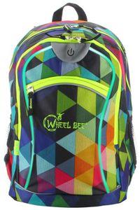 Wheel Bee Schulrucksack - Night Vision - Multicolor