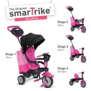 Smart Trike Kinderdreirad mit Dach - Swing DLX - pink