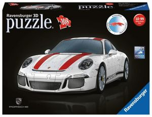 3D Puzzle - Porsche 911 R - 108 Teile