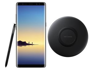SAMSUNG Galaxy Note 8 64GB Smartphone midnight black inkl. wireless charger pad