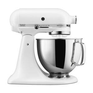 KitchenAid 5KSM150PSEFW Artisan Classic Küchenmaschine, Weiß Matt