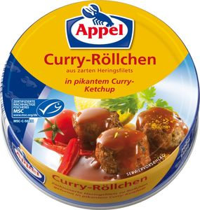 Appel MSC Curry-Röllchen 200g