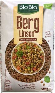BioBio Berg Linsen 500g