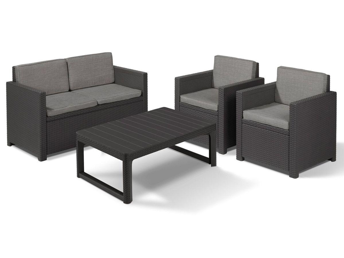 Bild 2 von Allibert Gartenmöbel Lounge Set Victoria / Lyon Premium
