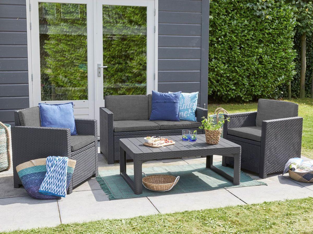 Bild 3 von Allibert Gartenmöbel Lounge Set Victoria / Lyon Premium