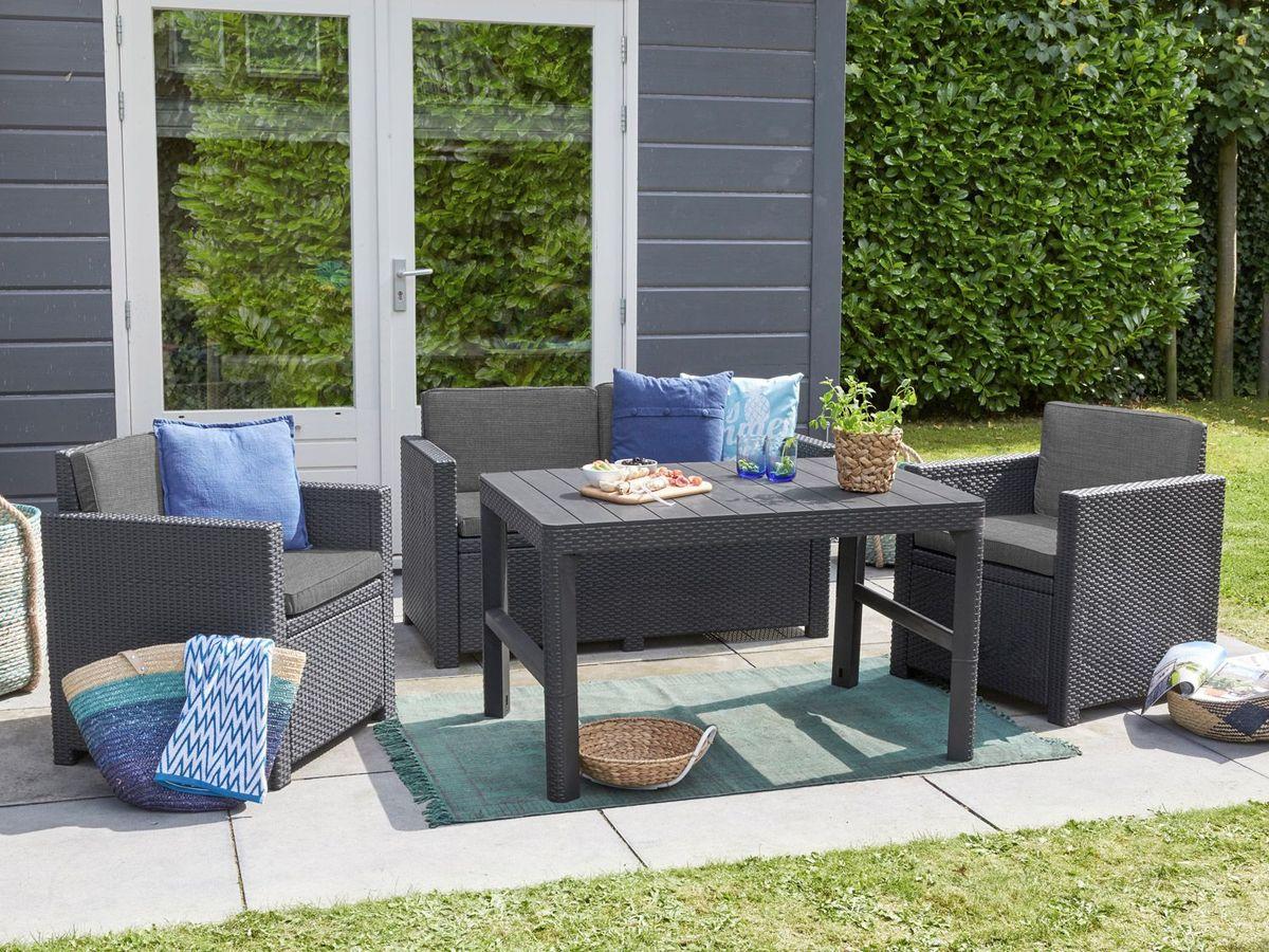Bild 4 von Allibert Gartenmöbel Lounge Set Victoria / Lyon Premium
