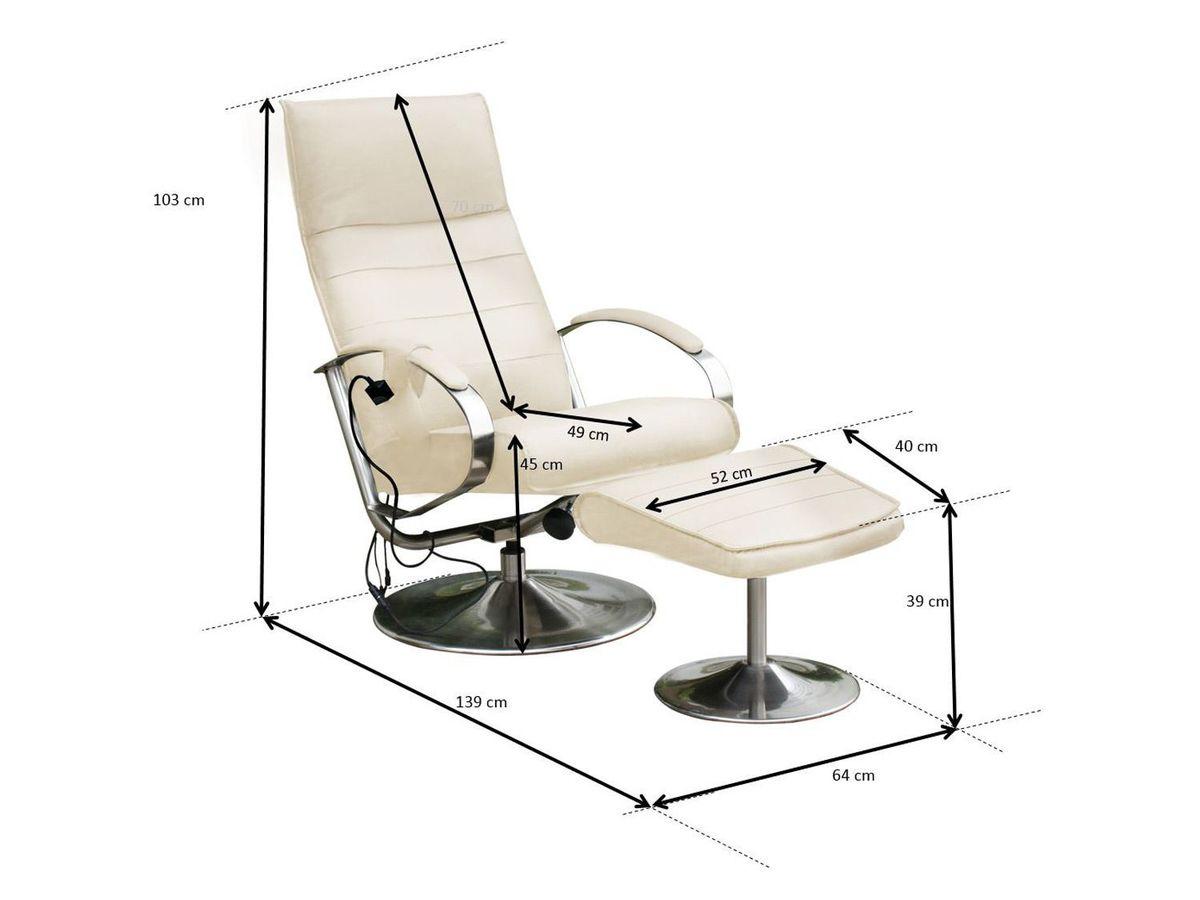 Bild 3 von Alpha Techno Massagesessel AT 2107