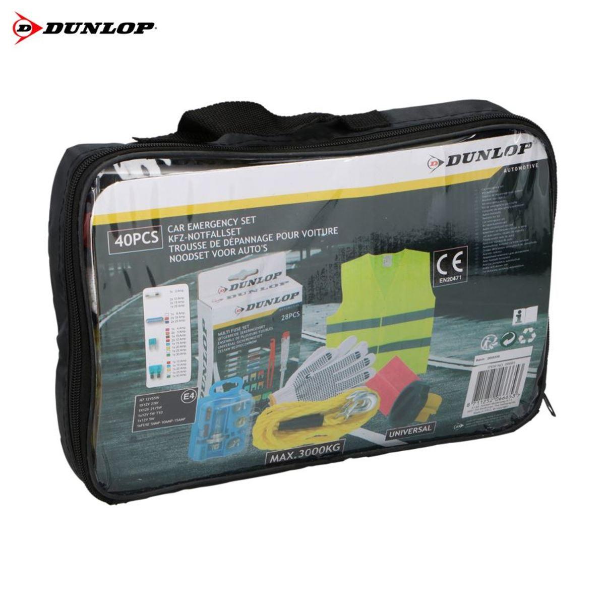 Bild 1 von Dunlop KFZ-Notfallset 40-teilig