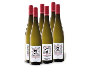 6 x 0,75-l-Flasche Weinpaket Johannes Franz Weißburgunder Nahe QbA trocken, Weißwein