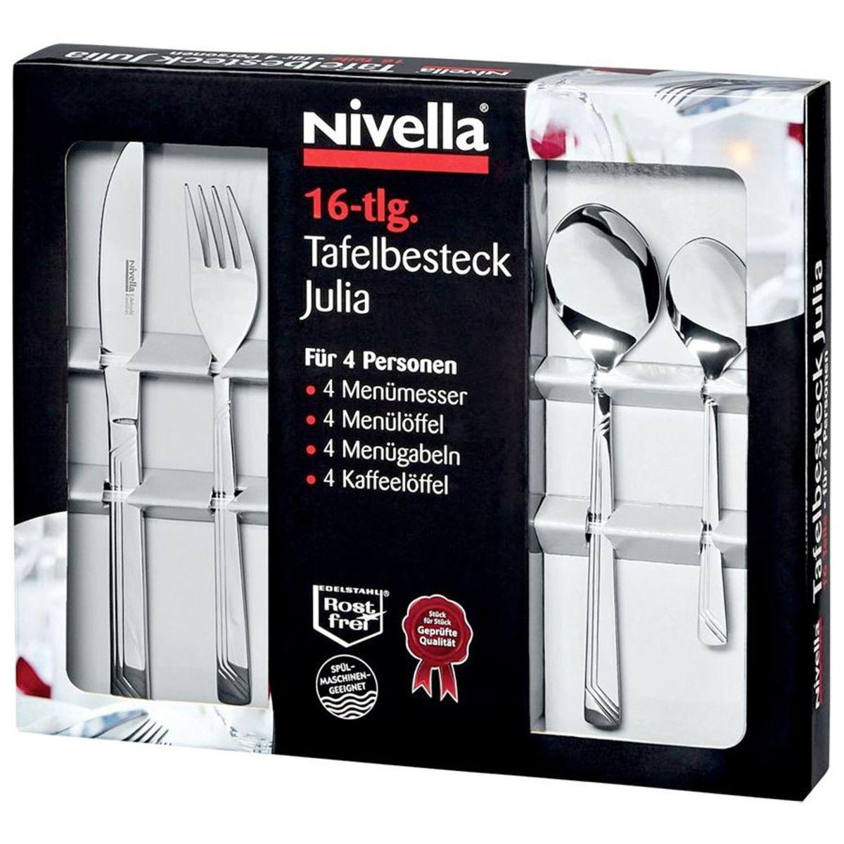 Bild 2 von Nivella Besteck-Set Julia 16-teilig
