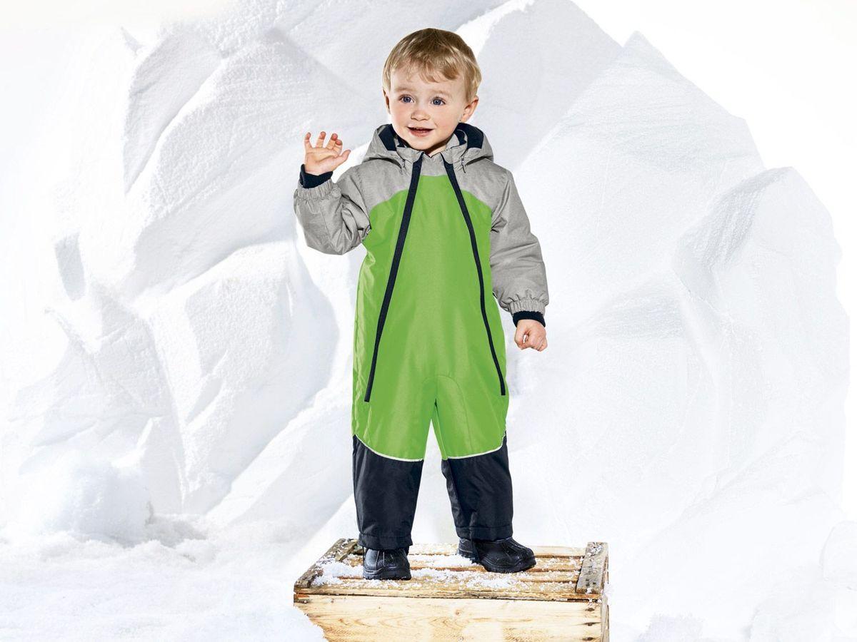 Bild 2 von LUPILU® Baby Kleinkinder Jungen Schneeoverall