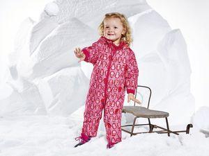 LUPILU® Baby Kleinkinder Mädchen Schneeoverall