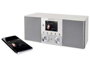 SILVERCREST® 4-in-1-Stereo-Internet-Radio