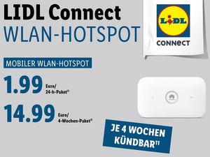 WLAN-Hotspot Lidl Connect