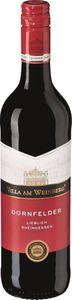 Dornfelder Rotwein QbA lieblich Rheinhessen, 0,75l