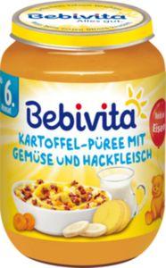 Bebivita Kartoffel-Püree mit Gemüse und Hackfleisch 190 g