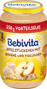 Bebivita Apfelstückchen mit Banane und Vollkorn 250 g