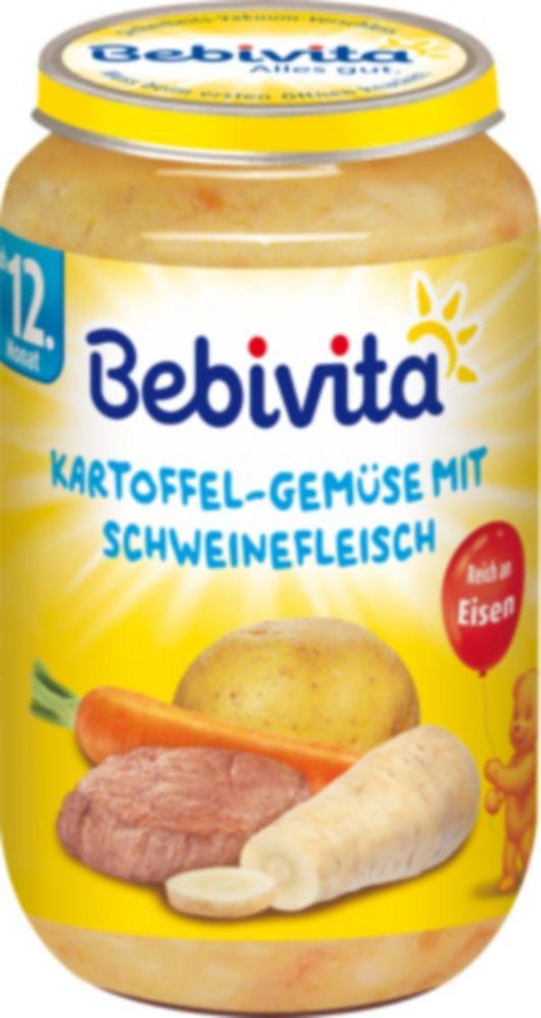 Bebivita Kartoffelgemüse 250g