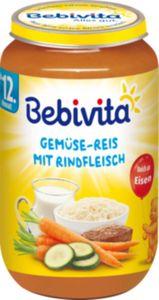 Bebivita Gemüse-Reis mit Rindfleisch 250 g