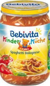 Bebivita Kinder-Küche Spaghetti Bolognesse 250 g