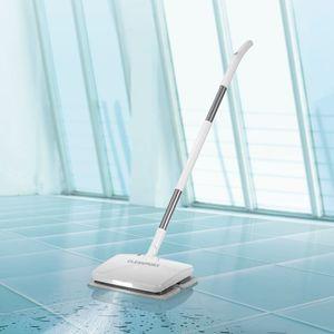 CLEANmaxx Akku-Vibrationsmopp 11,1V weiß