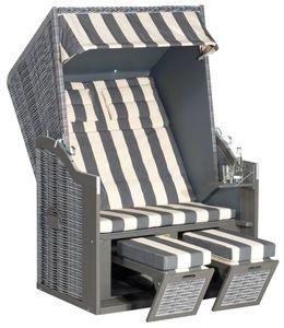 SunnySmart Strandkorb Rustikal 34 Z, Onix