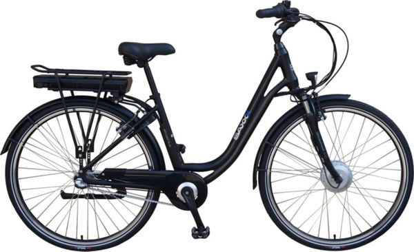 SAXXX City Light Plus E-Bike schwarz matt
