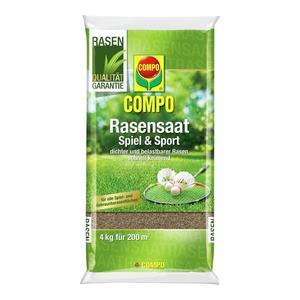 Compo              Rasensaat Spiel & Sport Aktion, 4 kg