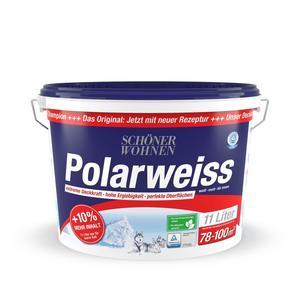 """Schöner Wohnen Farbe              Wand- und Deckenfarbe """"Polarweiss"""", matt"""