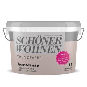 Schöner Wohnen Farbe              Trendfarbe des Jahres 1 Liter Hortensie