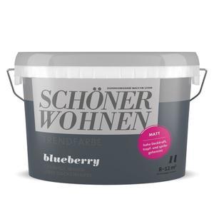 Schöner Wohnen Farbe              Trendfarbe des Jahres 1 Liter Blueberry