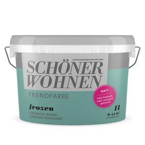 """Schöner Wohnen Farbe              Trendfarbe """"Frozen"""""""