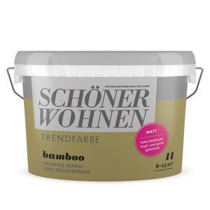"""Schöner Wohnen Farbe              Trendfarbe """"Bamboo"""""""