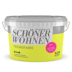 Schöner Wohnen Farbe              Trendfarbe Fresh 2,5 L