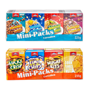 GLETSCHERKRONE     Mini-Packs Cerealien
